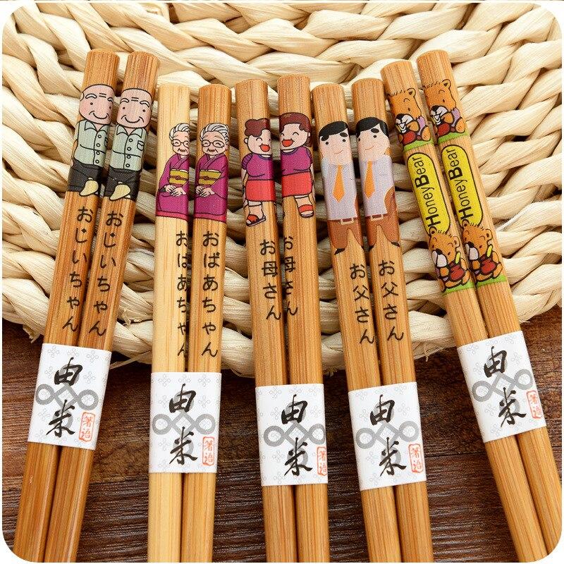 Купить 10 пар многоразовые деревянные бамбуковые китайские японские