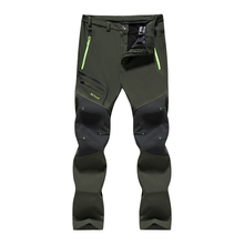 Fishing-Pants Trousers VEAMORS Trekking Fleece Quick-Dry Waterproof Mens Thick Breathable