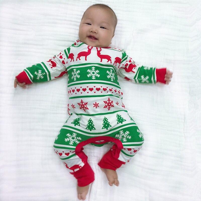 Baby Mädchen Jungen Weihnachts Romper Neugeborenen Weihnachten Rentier Overall Bebes Pyjamas Baby Mädchen Kleidung Jungen Kleidung 35