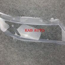 Прозрачный абажур лампы абажур передняя фара оболочка стекло для Honda Odyssey RB3 2009 2010 2011 2012 2013