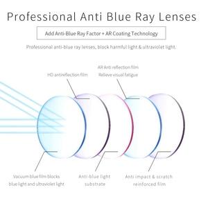 Image 4 - ZENOTTIC Acetate Anti Blue Light กรอบแว่นตาสำหรับเด็กเด็กเด็กสาวสำหรับเล่นเกมคอมพิวเตอร์สายตาสั้นแว่นตา
