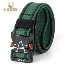 Buckle-Belt Sports-Belt Belt-Quality Quick-Release HSSEE Tactical Real-Nylon Hard Unisex
