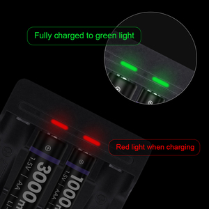 Image 3 - G Linked 1.5V Battery Charger Li ion LED Smart Fast Charger for 1.5V AA AAA Lithium Rechargeable Batteries Baterias