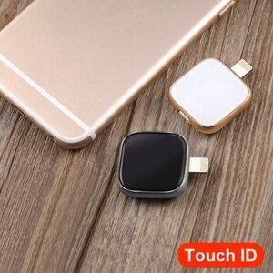 Image 5 - Siêu Thanh Kim Loại N Kính Đèn LED Cổng USB Dành Cho iPhone 6/6 S/6 Plus/7/7 plus/8/X MacBook OTG/Lightning 2 In 1 Bút Cho Android PC