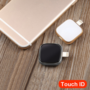 Image 5 - Supersonic Metal n Glass USB Flash Drive For iPhone 6/6s/6Plus/7/7Plus/8/X Macbook Otg/Lightning 2 in 1 Pen Drive For Android PC