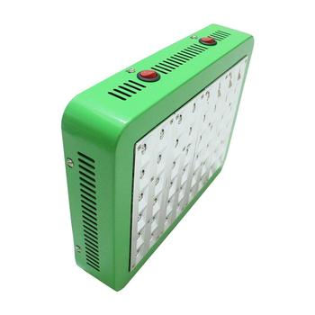 Dual-Core 240W LED Plant Growth Lamp Full Spectrum Fill Light Green Shell Dual Control Grow Lights