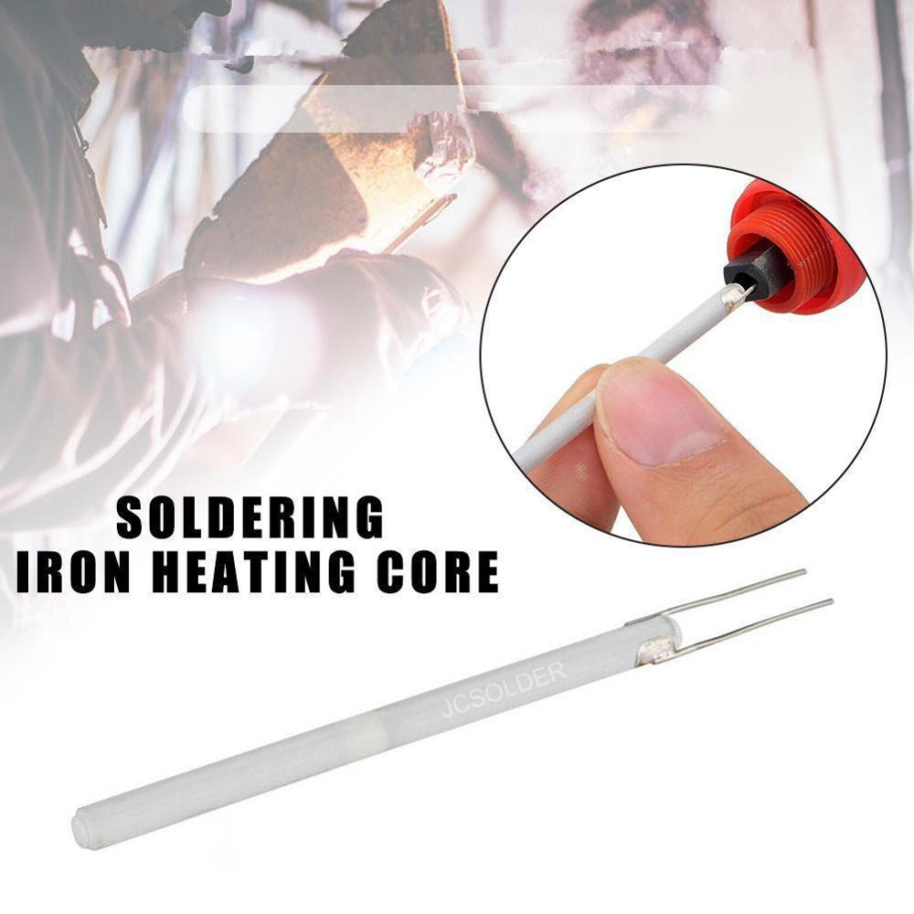 For 908 908S Solder Adjustable Temperature Electric Soldering Iron Heater 220V 110V 80W 60W Ceramic Internal Heating Element 1pc