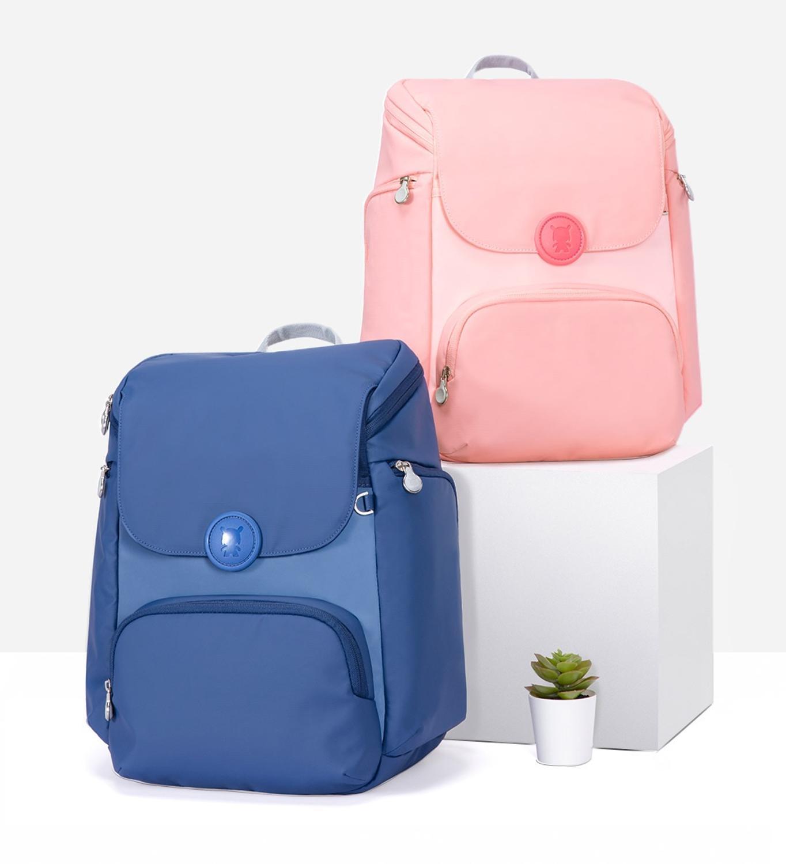 2020 New Xiaomi Mitu Backpack 3 EVA Material C.P Antifouling Fabric Easy Clean Lightweight Children School Bag for Boys Girls