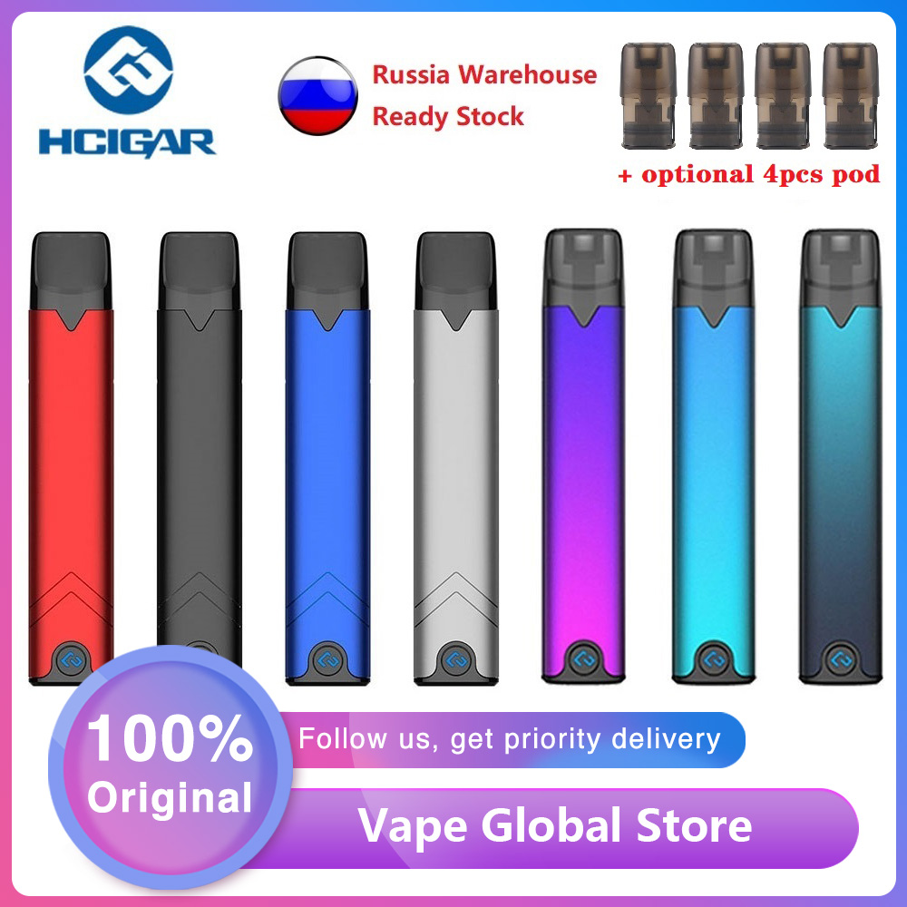 Original Hcigar Akso OS Pod Vape Kit With 420mAh Battery & 1.4ml Refillable Pod & Advanced XT Chip E-cig Vape Kit Vs Drag Nano