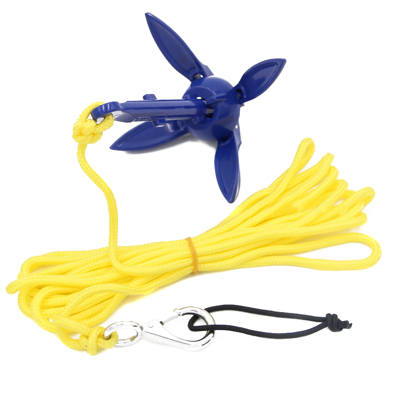 Fishing-Accessories Boat Folding Anchor Kayak Canoe Marine for Watercraft F-Best title=