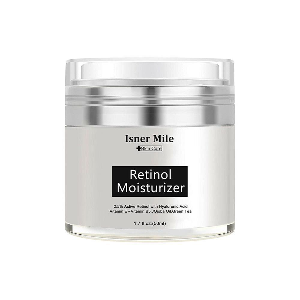 2.5% Anti Aging Wrinkle Acne Face Facial Whitening Serum 50ml Pure Retinol Vitamin A Cream Hyaluronic Acid Skin Care Products