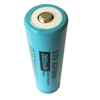 4 x PKCELL Aluminum packaging Button Top No Protection Liion Rechargeable Batteries ICR18650 2600mAh 18650 Batteria
