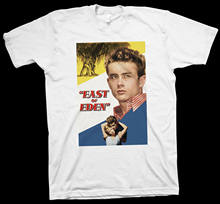 East Of Eden T-shirt Elia Kazan, John Steinbeck, Paul Osborn, James Dean, Bioskop(China)