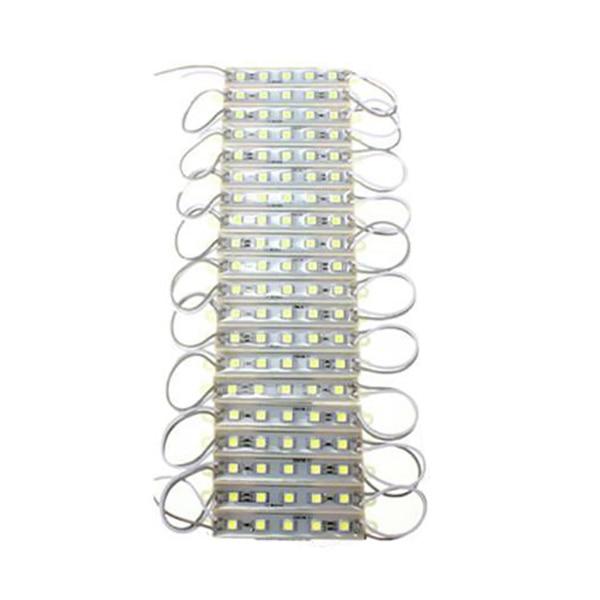 5050 LED Module 5 SMD Strip Waterproof Strip Band Lamp DC 12V 20PCS white