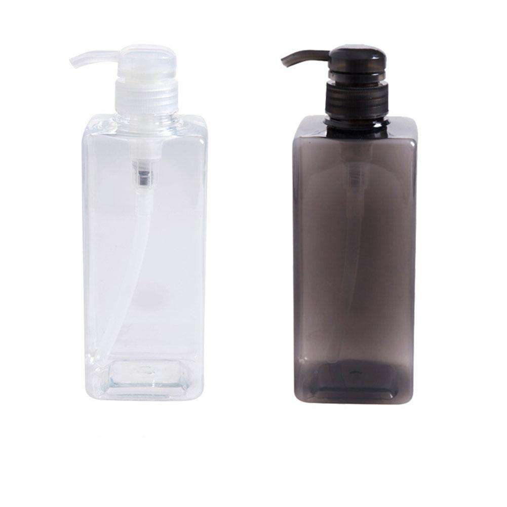 600ML Soap Dispenser Bottle Bathroom Hand Sanitizer Cosmetics Bottles Shampoo Shower Gel Lotion Container Empty Travel Bottle