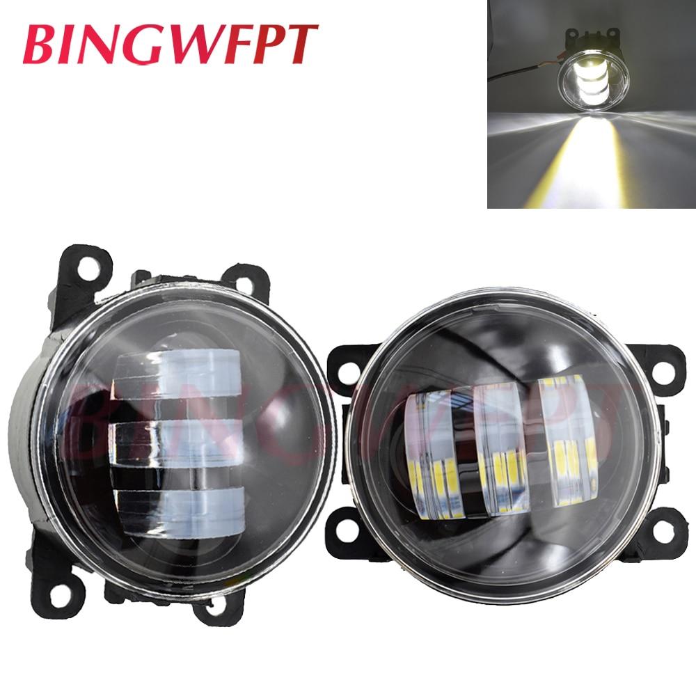 2pcs/pair LED Fog Lights For Mitsubishi Outlancer XL For Mitsubishi Outlander 2 3 For Mitsubishi Pajero Sprot