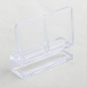 8mm Aquarium Fish Tank Acrylic Clips Glass Cover Support Holders 1Pc image