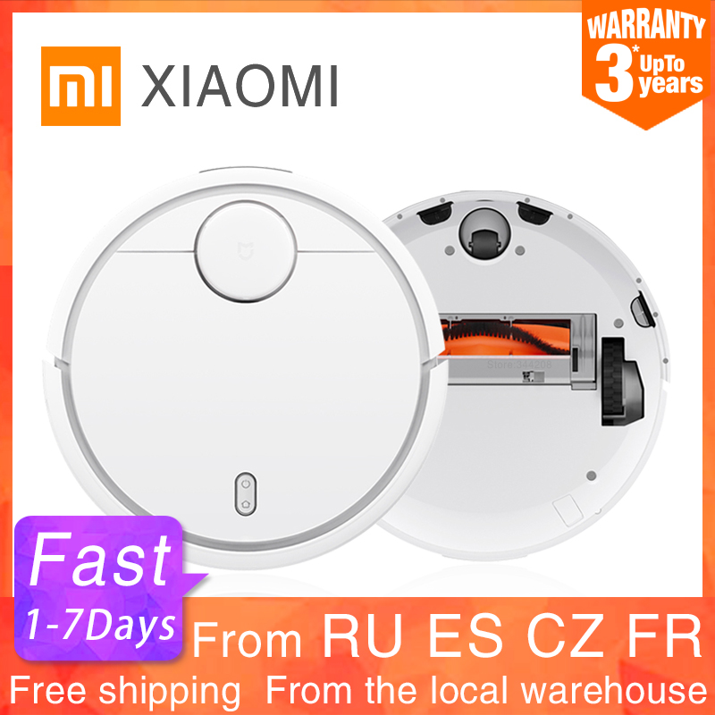 2020 XIAOMI Original MIJIA Robot Vacuum Cleaner for Home Automatic Sweeping Dust Sterilize Smart Planned WIFI App Remote Control(China)