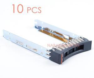 """Image 1 - 10 sztuk 44T2216 serwera HDD tacy 2.5 """"SFF SAS HDD Caddy dla X3400M2 X3500M2 X3650M2 X3550M3 X3650M3, za pomocą śrub"""