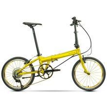 Bicicleta dobrável dahon bicicleta kaa014 kaa004 30th aniversário ouro prata shimano 105 11 velocidade quadro de liga de alumínio high-end luxo