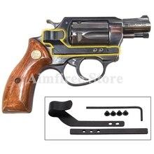 Универсальная потайная Оружейная кобура пистолет кобура подходит для всех револьверов скрытый пистолет зажим для ремня
