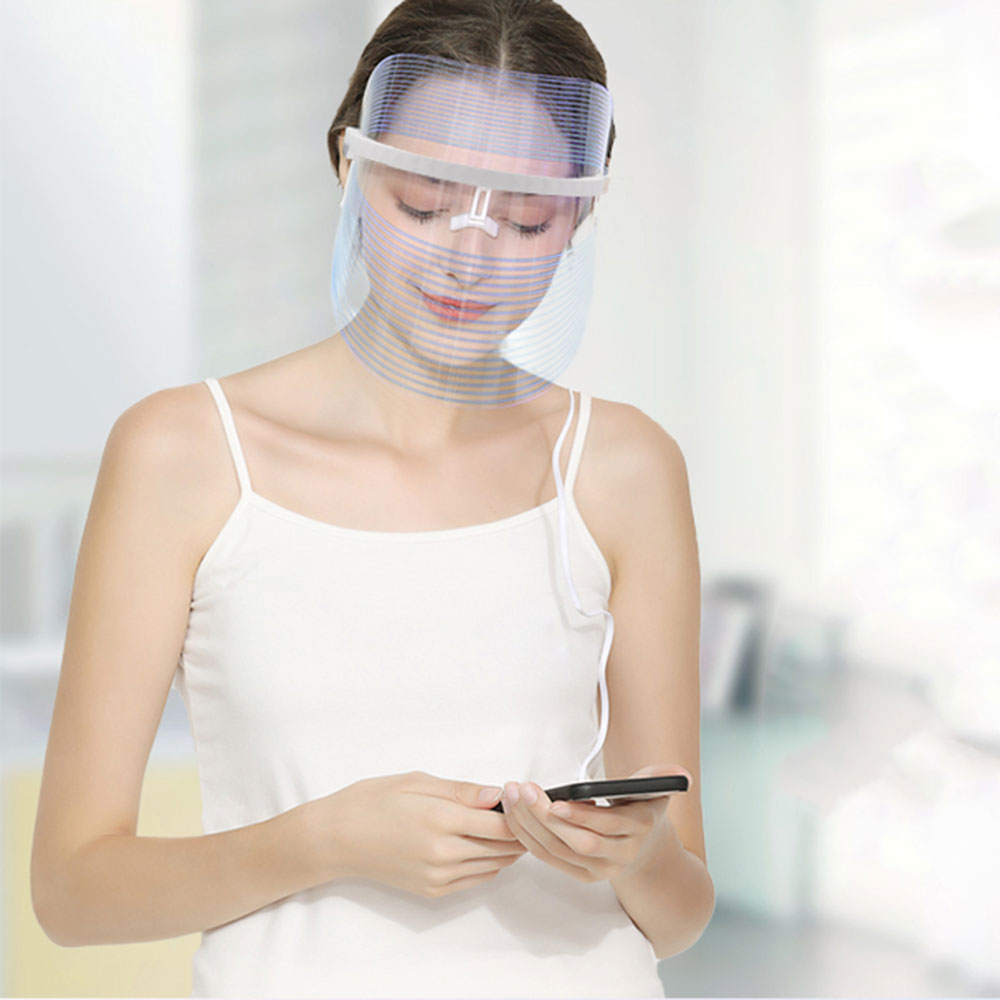 LED Light Beauty Instrument Facial SPA Treatment LED Mask Phototherapy Anti-aging Face Mask Anti-wrinkle Beauty Tool