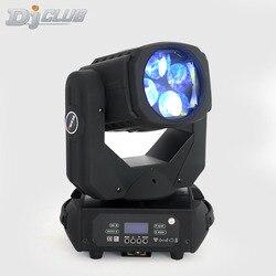 4x25W Super wiązki światła lampa LED z ruchomą głowicą doskonały efekt światła dla DJ Disco