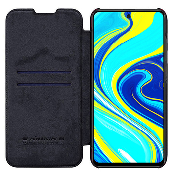 For Xiaomi Redmi Note 9 /9 Pro Flip Case NILLKIN QIN Series Flip Leather Cover For Redmi Note 9 Pro max with wake/Sleep Function