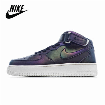 Nike Air Force 1 07 Mid Anthracite Men's Mid-Top Sneakers Size 40-45 AT1118 600