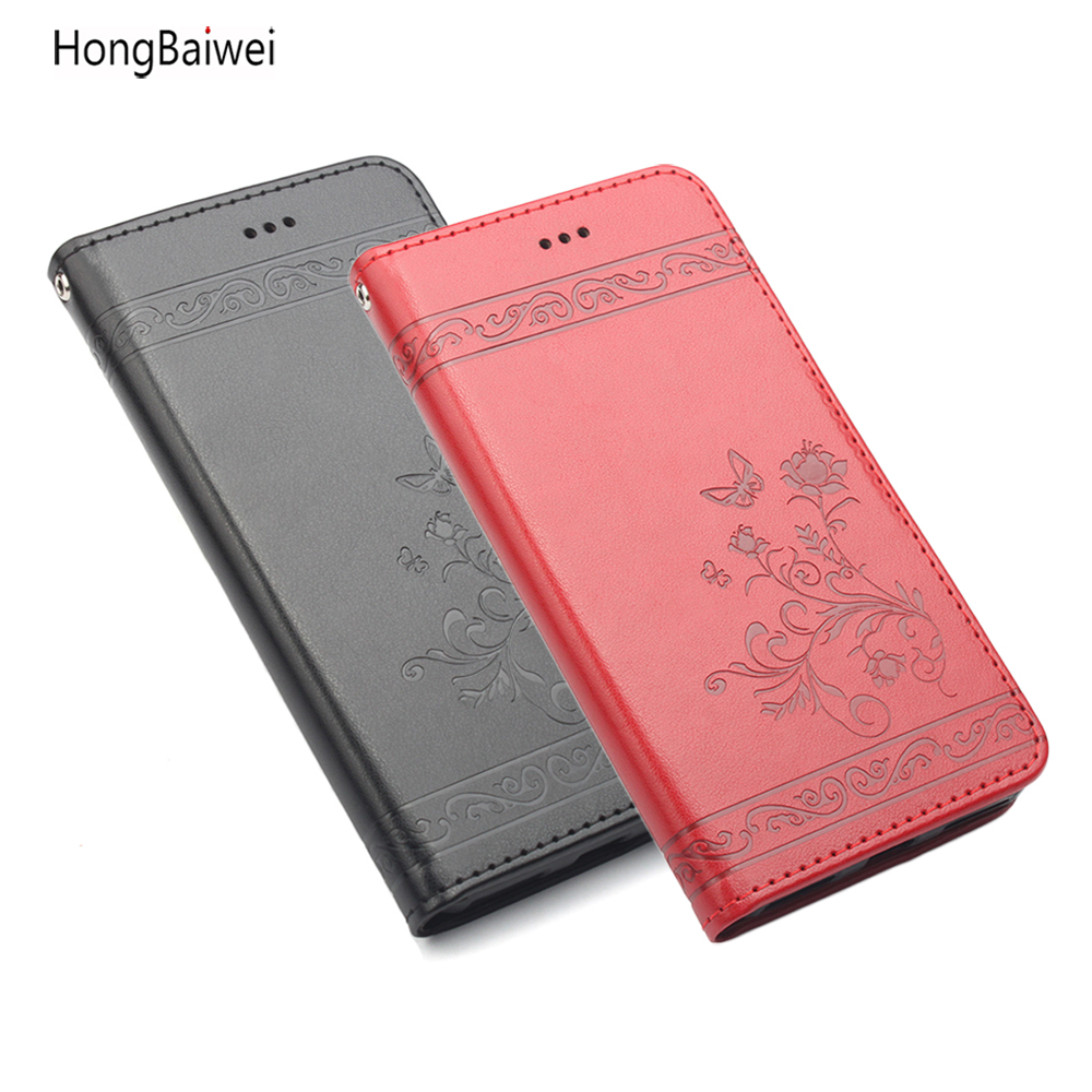 Luxury Leather Flip Wallet Case for Huawei Honor V10 Phone Case for Huawei For Huawei Honor V10 Cover Huawey Honor V10 Coque image