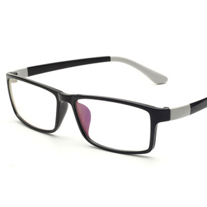 Image 4 - CUBOJUE 150 ミリメートル特大メガネ男性女性眼鏡フレームワイド顔処方箋ハイグレートアセテートテンプル眼鏡 TR90 近視視度眼鏡