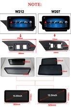 Radio multimedia con GPS para coche, Radio con reproductor, Android 10, 128, 8 GB de RAM, para mercedes-benz GLK 280, GLK350, X204, NTG 4,5/5, GPS para coche