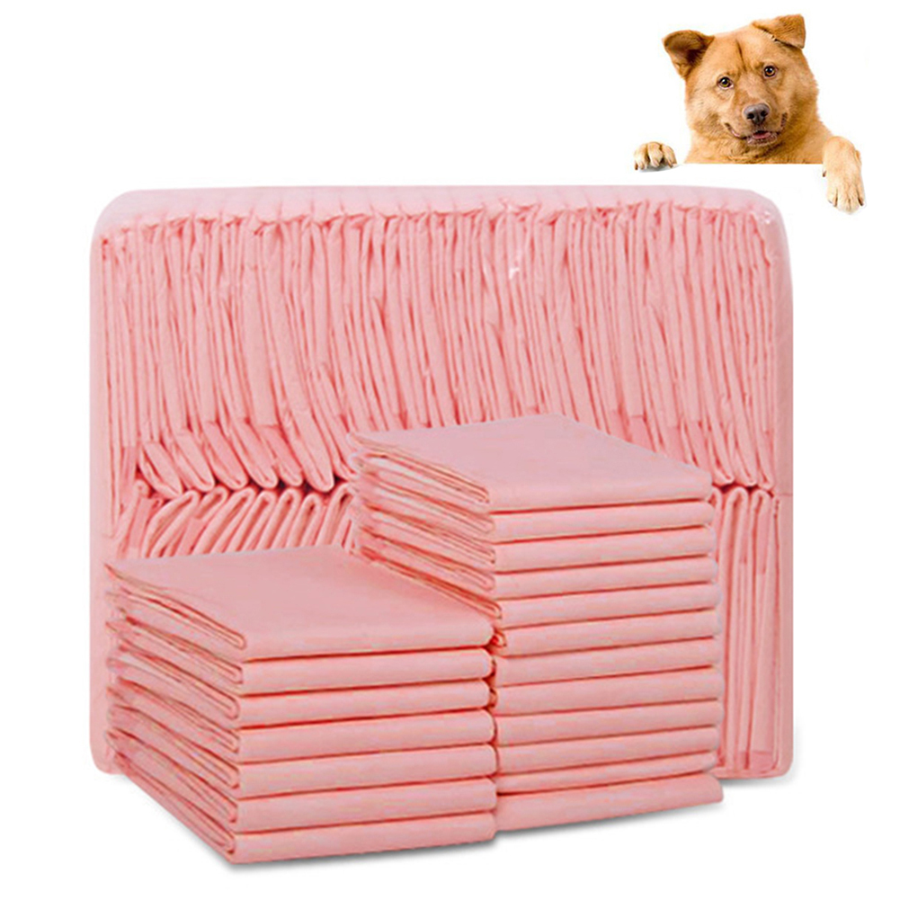20 to 100Pcs Super Absorbent and Deodorized Puppy Toilet Pads for Dogs Potty Training 2