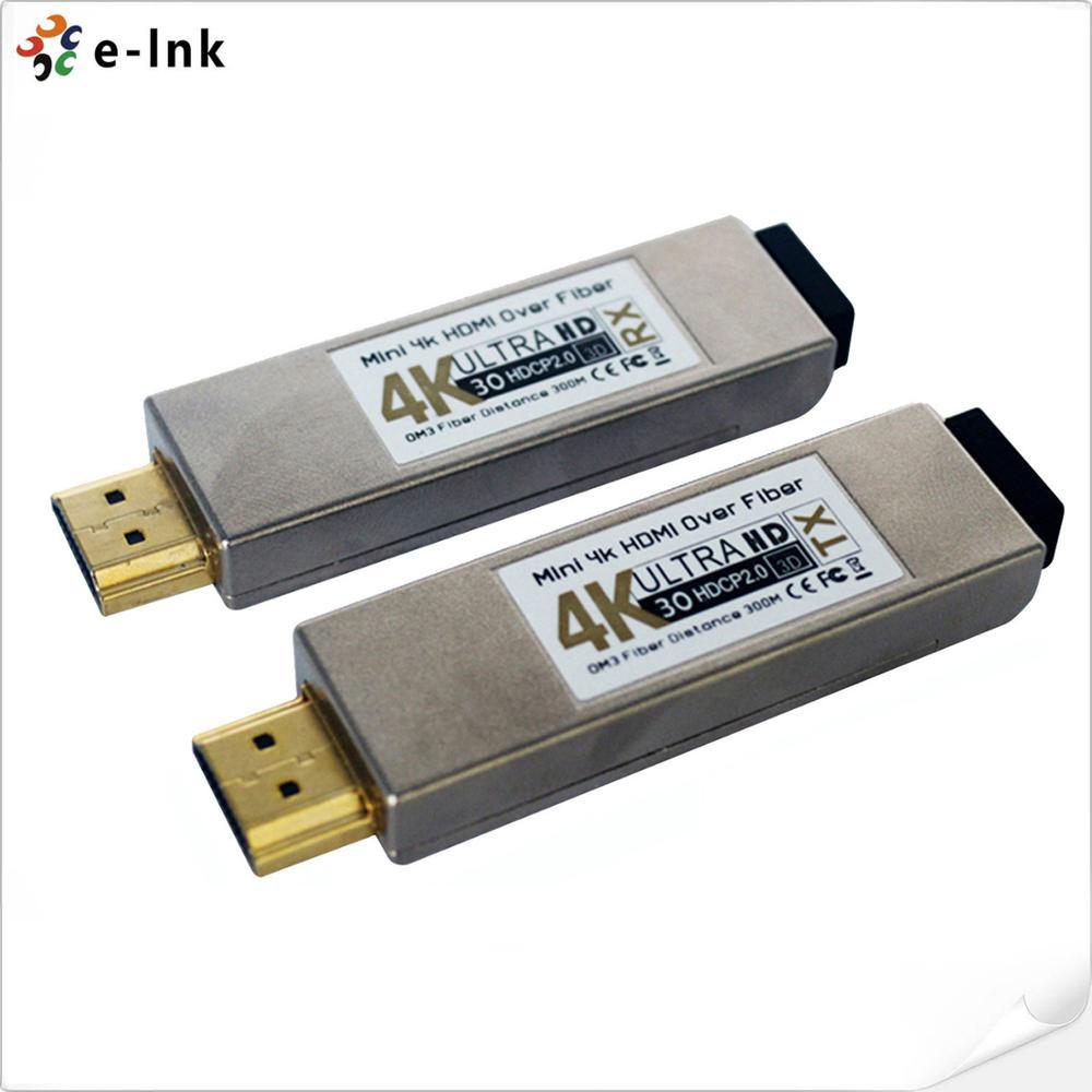 Mini 4Kx2K HDMI Over Optical Fiber Transceiver 4K HDMI Fiber Optic Extender