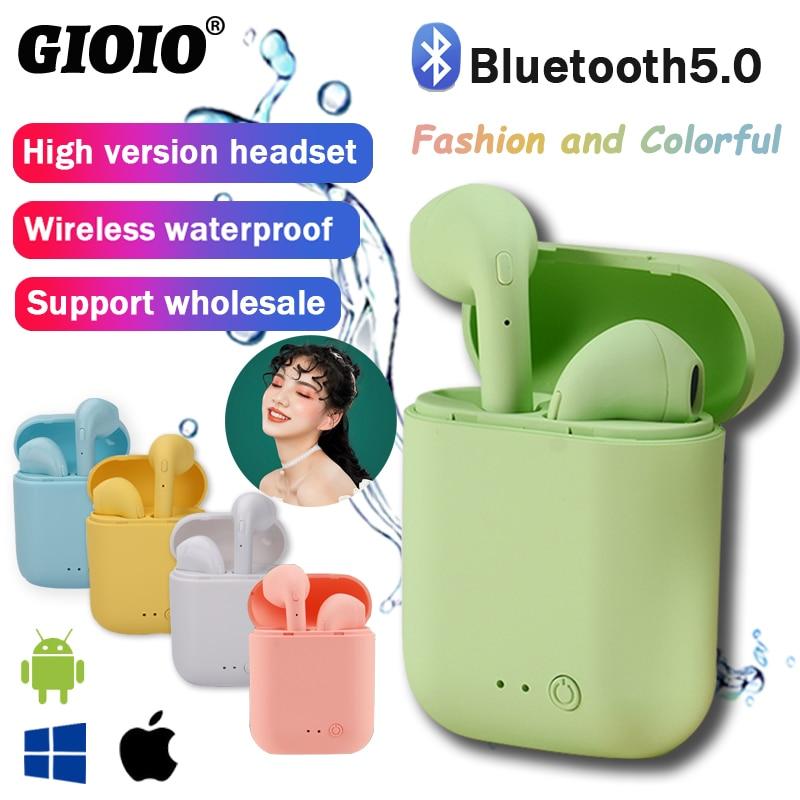 Беспроводные наушники Mini-2, Bluetooth-наушники, водонепроницаемые наушники, спортивные наушники для Huawei, Iphone, OPPO, Xiaomi, TWS, музыкальная гарнитура 1