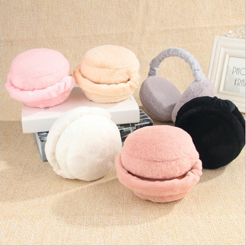 1pcs Cute Earmuffs For Women Imitation Rabbit Fur Winter Earmuffs Warm Female Ear Warmers Earflap Headband Fashion Wholesale