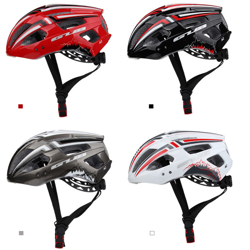 Adults MTB Bike Helmet Mountain Bicycle Cycling Helmets Safety Protective Gear Breatheable w/ Visor Cycling Caps Hat Protect