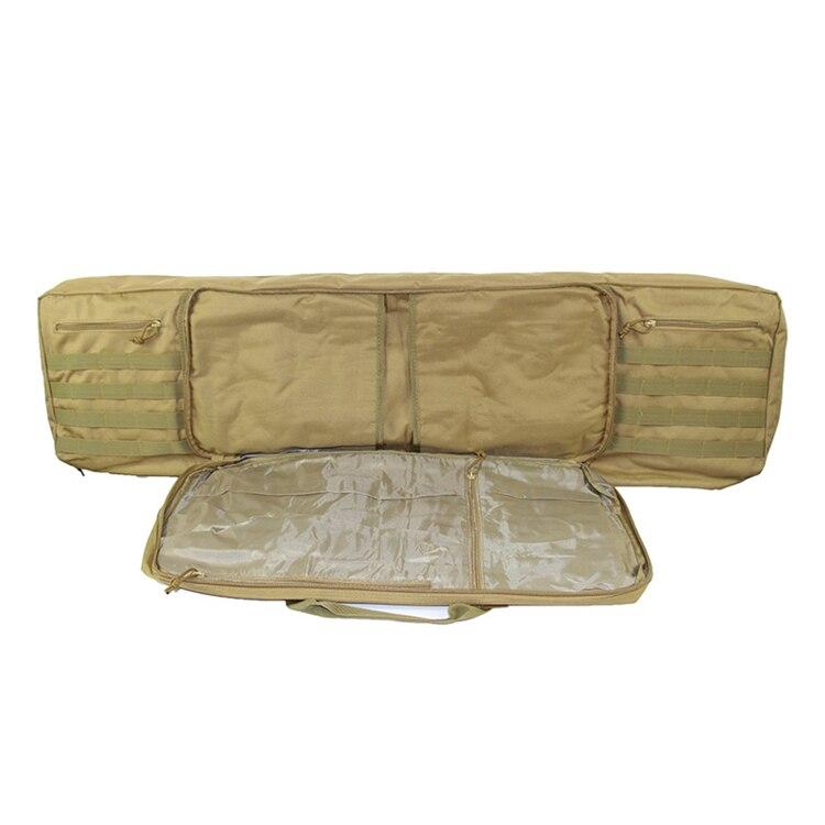 caso carabina ombro mochila portátil airsoft tiro saco pesca arma acessórios