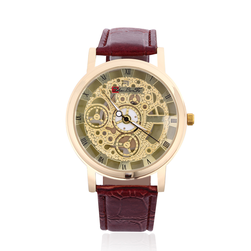 OUTAD Watch Man Women New Gift Casual Watch Quartz Watches Leather Strap Wristwatch Relogio Feminino Masculino Gift Clearance