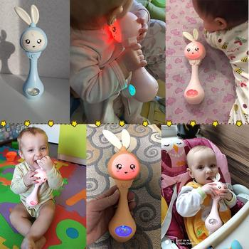 Baby Music Teether Rattle Toy for Child 0-12 Education Mobile Cot Kids Bed Bell Newborn Stroller Crib Infant Pacifier Weep Tear 2