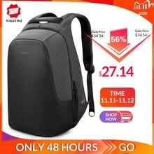 Anti robo repelente de agua 15,6 pulgadas USB carga casual hombres mochilas mochila escolar mujer hombre para adolescentes niñas