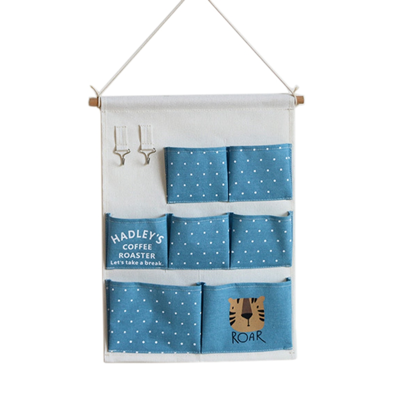 Carttoon настенная подвесная сумка для хранения в скандинавском стиле, органайзер для детской кроватки, декор для детской комнаты, детская игрушка, сумка для хранения подгузников, Домашний Органайзер - Цвет: 2
