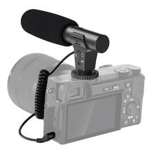 ميكروفون بندقية مكثف احترافي ، للكمبيوتر الشخصي ، الهاتف ، 3.5 مللي متر ، لكانون ، نيكون ، سوني ، DSLR ، الكاميرا ، مقابلة ، ميكروفون