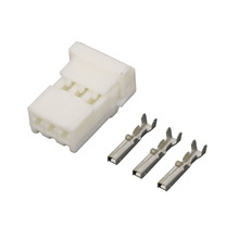 5 sets 3 pin auto white car connector without terminal DJ7033-2.2-21 3P