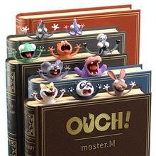 3d Творческий Стерео Закладка для книги и милые носки с рисунками