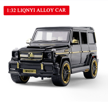 купить Diecast Brabus G65 1/24 Model Toy Car Metal Alloy Car Simulation Pull Back Cars Toys Vehicles for Kids Gifts for Children дешево