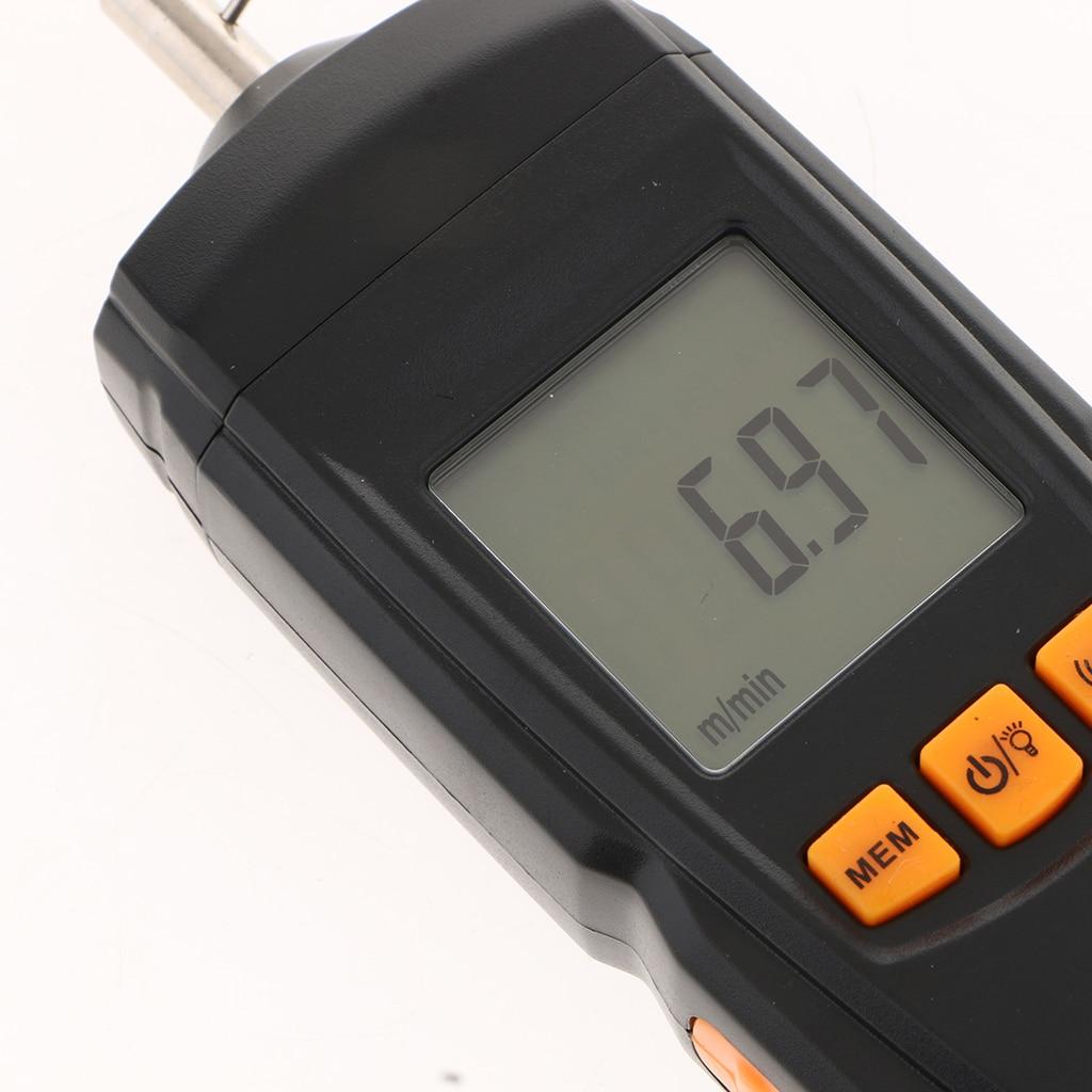 GM8906 tachymètre numérique jauge de vitesse de Type Contact compteur portable