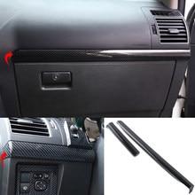 Для Toyota Land Cruiser Prado FJ150 2010-2020 интерьерная центральная консоль из ABS углеродного волокна декоративные полосы отделка крышка автомобильные акс...