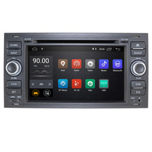DSP 2 din Android 10 Car GPS DVD PLAYER navigator For Ford Mondeo S-max Focus C-MAX Galaxy Fiesta transit Fusion Connect kuga