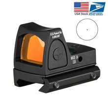 US Saham Rmr Red Dot Sight Collimator Glock Pistol Reflex Sight Lingkup Cocok 20Mm Penenun Rel untuk Airsoft Berburu senapan(China)
